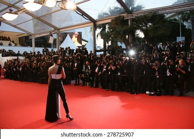 Sophie Marceau attends the premiere of 'The Sea Of Trees' during the 68th annual Cannes Film Festival on May 16, 2015 in Cannes, France.