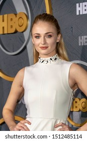 Sophie Turner attends 2019 HBO's  Post Emmy Award Reception at Pacific Design Center, Los Angeles, CA on September 22, 2019