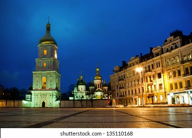 Sophievskaya Square with Bell tower of the Saint Sophia Cathedra