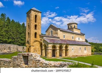 Monastère de Sopocani en Serbie près de Nova Varos