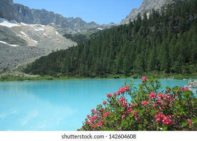 Sorapis Lake, Dolomiti, Italy