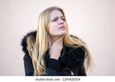 sore throat in winter