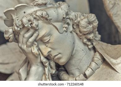 sorrow of angel in tears