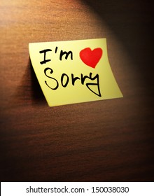 Im sorry images stock photos vectors shutterstock sorry handwritten altavistaventures Choice Image