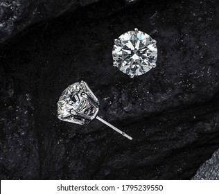 Sort diamond earring set for women