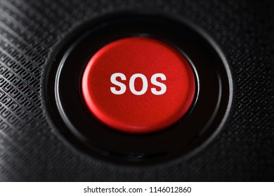 SOS button on an electronic device.