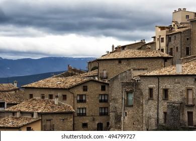 Sos del rey Catolico medieval village in spain