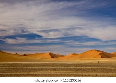 sossusvlei dunes in namibia africa