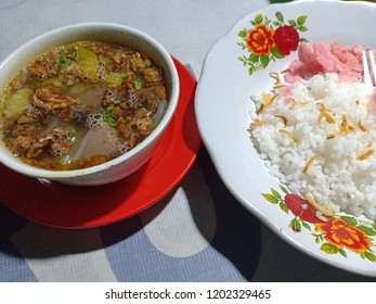 Soto minang baroda from west sumatra