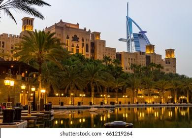 Souk Madinat Jumeirah in Dubai united arab emirates