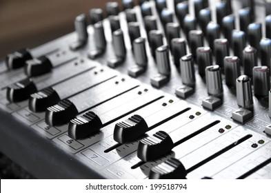 Sound Board Lite up