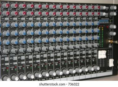 Sound Mixer Controls