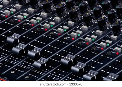 Sound Mixing Faders