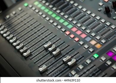 Sound music controller Electric Mixer Recording Studio Audio Equipment Digital Recorder