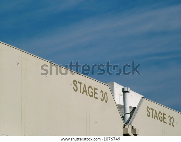Sound Stage in Hollywood, CA