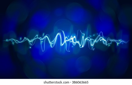 sound wave abstract backgrounds.