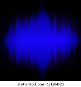 sound waves background