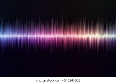 sound-wave background