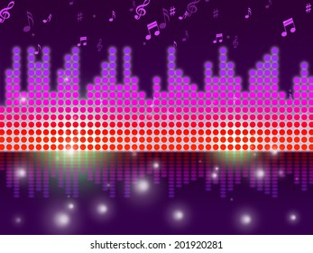 Soundwaves Background Meaning Song Tune Or Melody