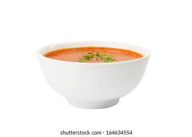 soup plate isolated on white background