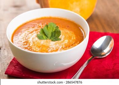 Soup, Pumpkin, Pumpkin Soup.