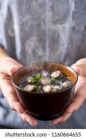 Soup of shellfish