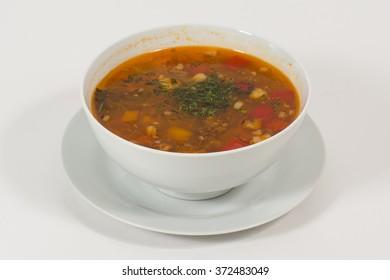 Soup, Vegetable Soup, Bowl