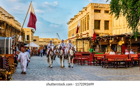 Souq Waqif is a souq in Doha, in the state of Qatar. The souq is noted for selling traditional garments, spices, handicrafts, and souvenirs. November 10/2017