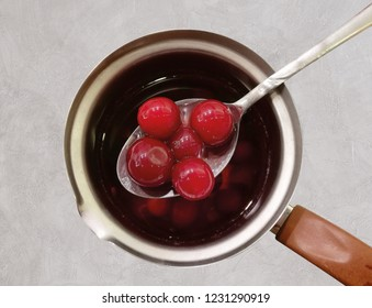 sour cherry compote