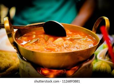 Sour Soup sour soup made of tamarind paste