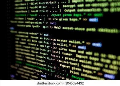 Quellcode von Ethereum, Kryptowährung und dezentralisiertem Vertragssystem für die Verwaltung intelligenter Verträge. innovative programmierbare Blockchain entwickelt in C    und los. Open Source Code