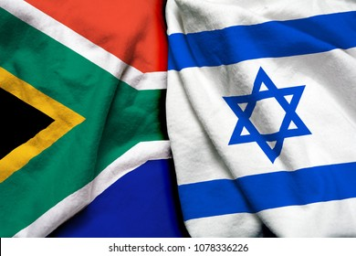 South Africa and Israel flag together