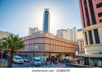 South Africa - January 29 2015: Tour around the cIty centre of Cape Town