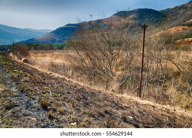 in south africa mountain land and the park natural reserve