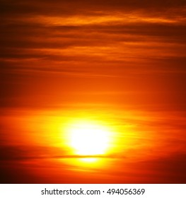 in south africa red sunset in the cloud like abstract background