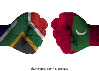 SOUTH AFRICA vs MALDIVES