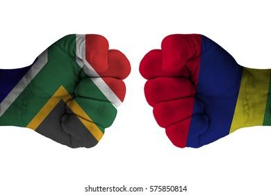 SOUTH AFRICA vs MAURITIUS