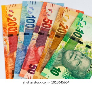 South African currency notes only