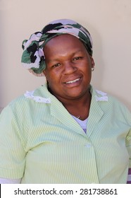 South African domestic worker