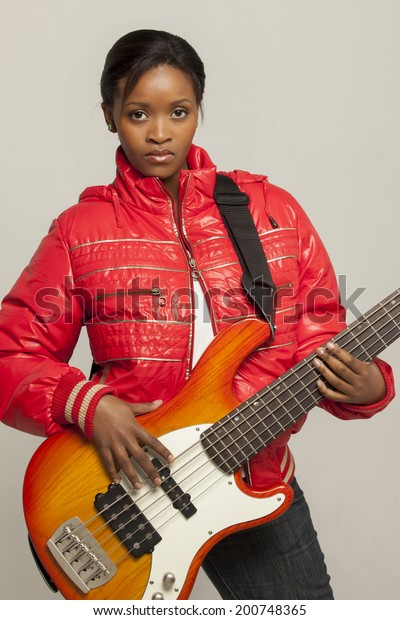 South African Female Bass Players Stock Photo (Edit Now) 200748365