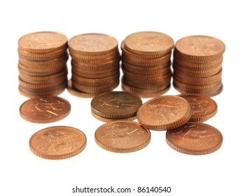 South African One Cent Coins