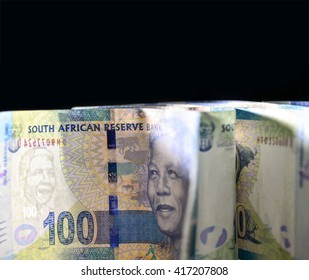 South African one hundred rand note close up 29
