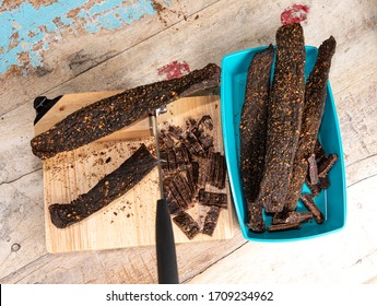 South African Traditional Meat Snack Biltong