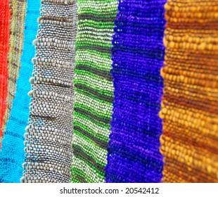 south american woven fabrics