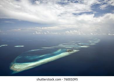 South Ari Atoll Looking North