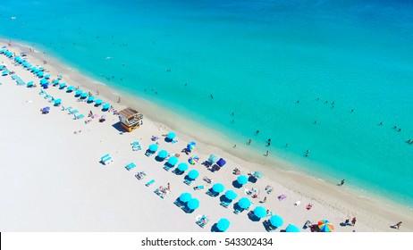 South Beach, Miami Beach. Florida.