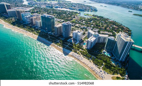 South Beach, Miami Beach. Florida. Haulover Park