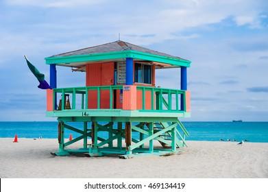 South Beach  - Miami, Florida Life Guard