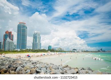 South Beach, Miami Beach, Florida, USA.