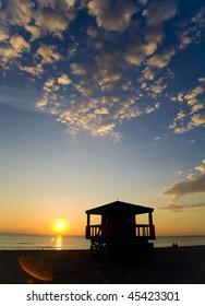 South Beach Sunrise, Miami, Florida
